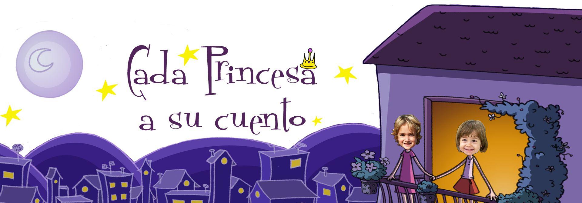 Cuentos personalizados para niños: Una princesa diferente - Encabezado del producto