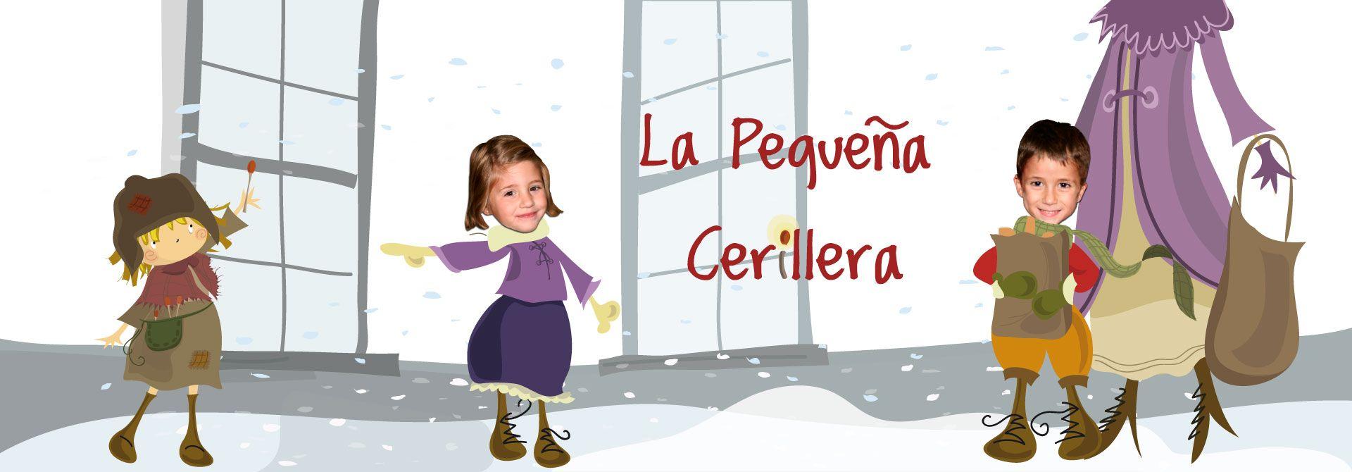 Cuento personalizado La pequeña cerillera - Una historia de Navidad - Encabezado del producto