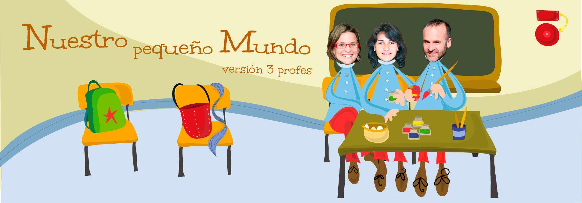 Cuentos personalizados para tres profes de infantil  - Encabezado del producto