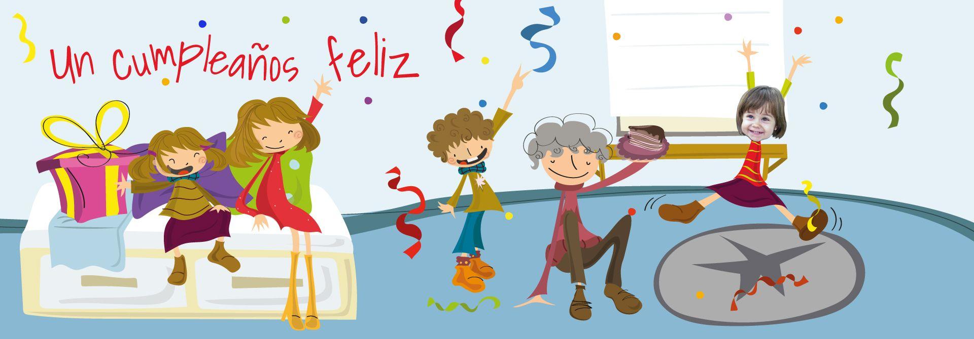 Regalo personalizado cumpleaños: Cuento personalizado - Encabezado del producto
