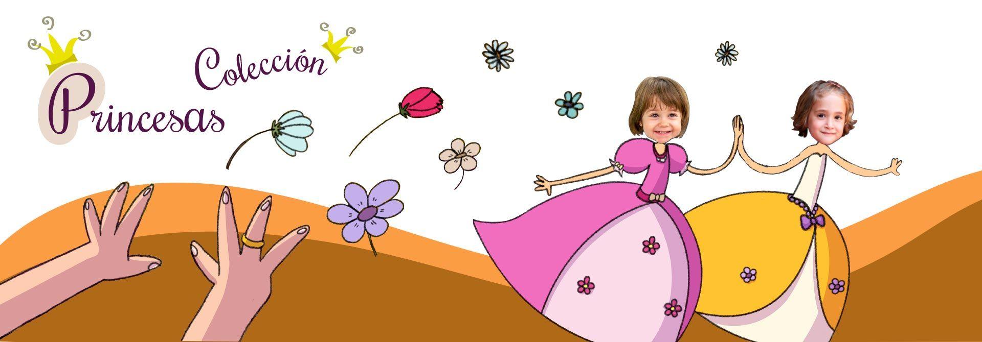 Libros personalizados con historias de princesas - Encabezado del producto