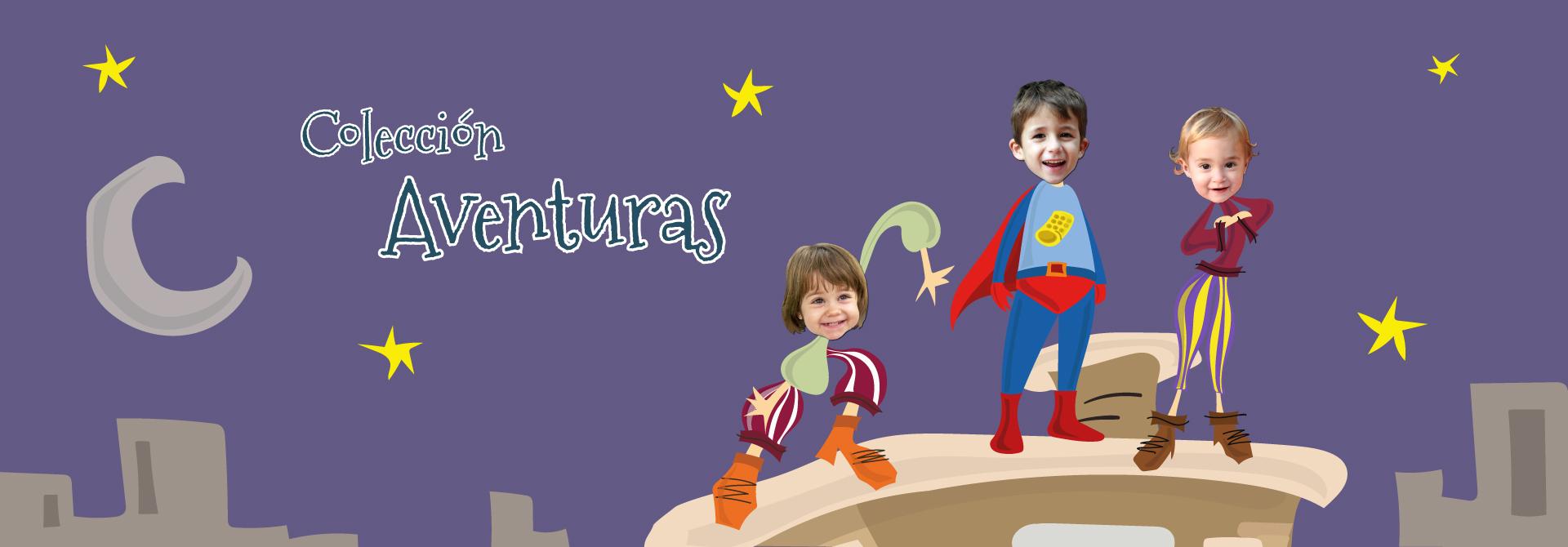 Colección de cuentos de aventuras - Encabezado del producto